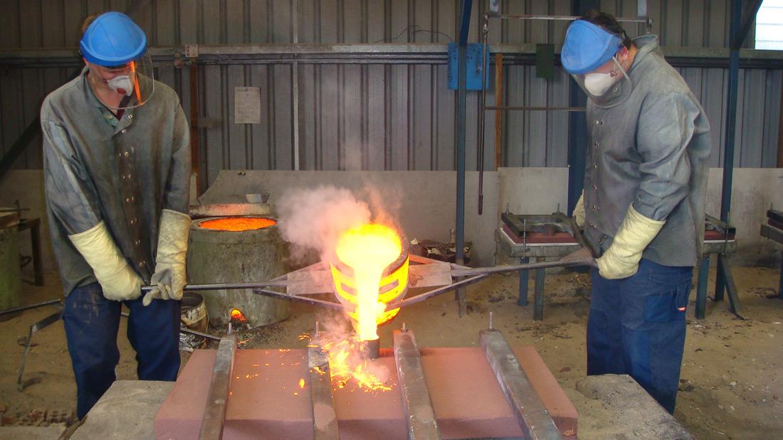 Foundry - Cast Pour 2