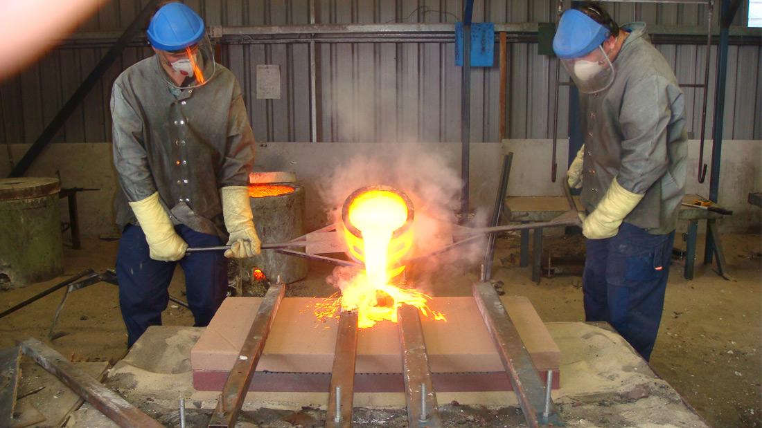 Foundry - Cast Pour 4