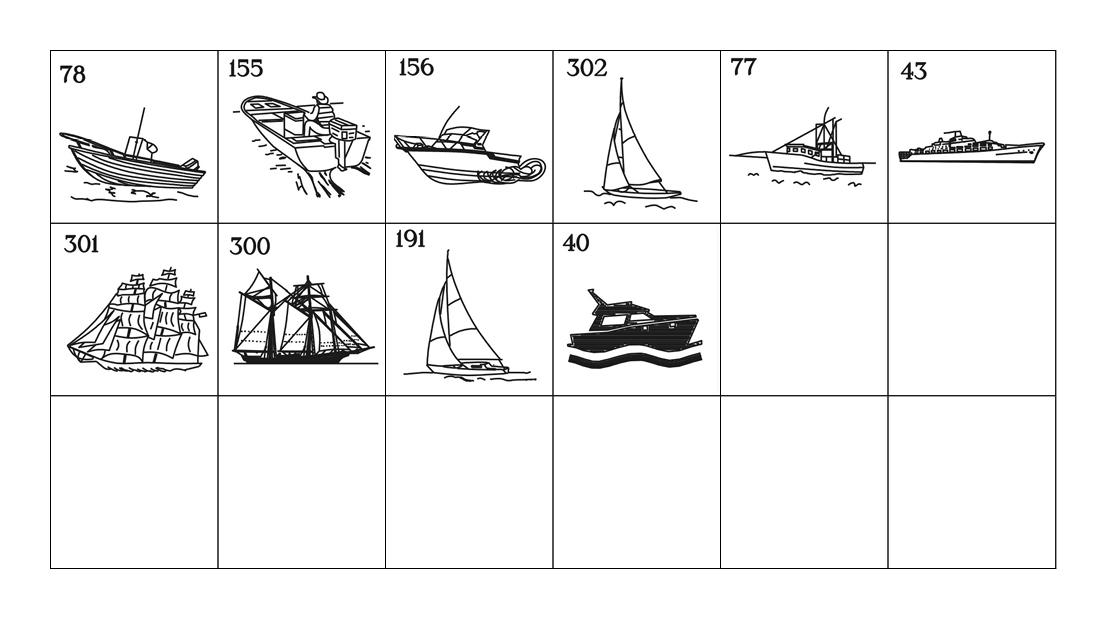 Emblems - Boats