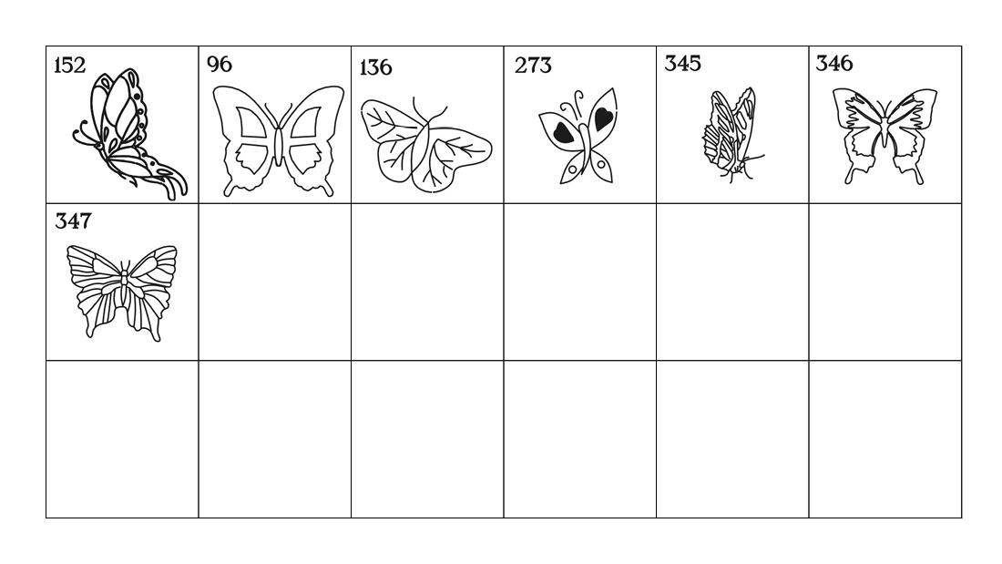 Emblems - Butterflies