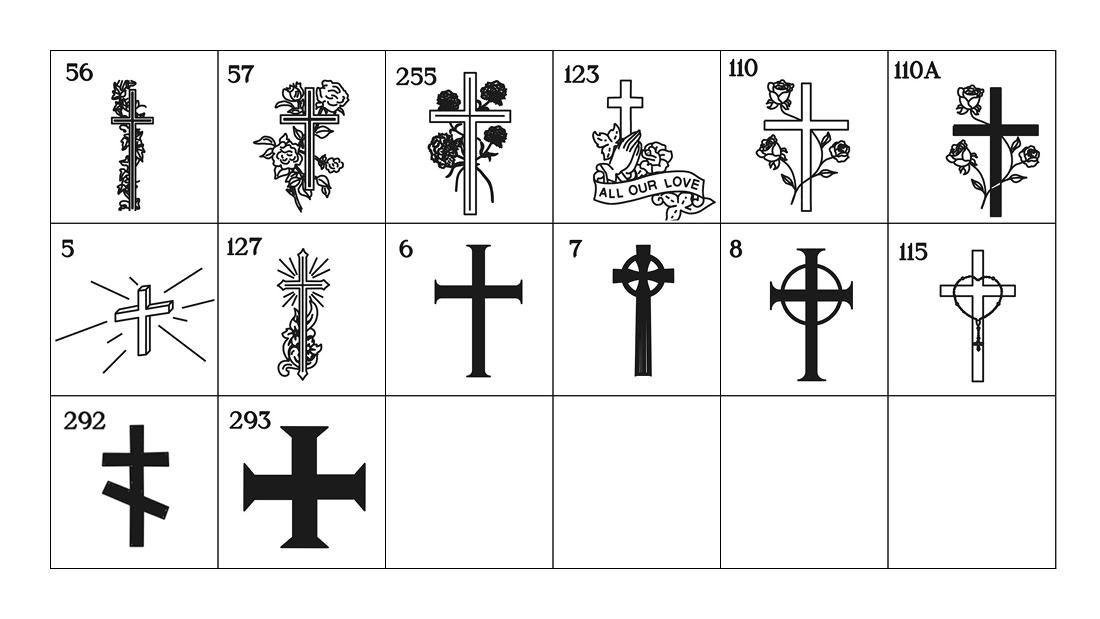 Emblems Crosses