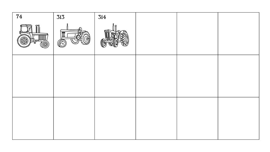 Worssell Emblems Tractors